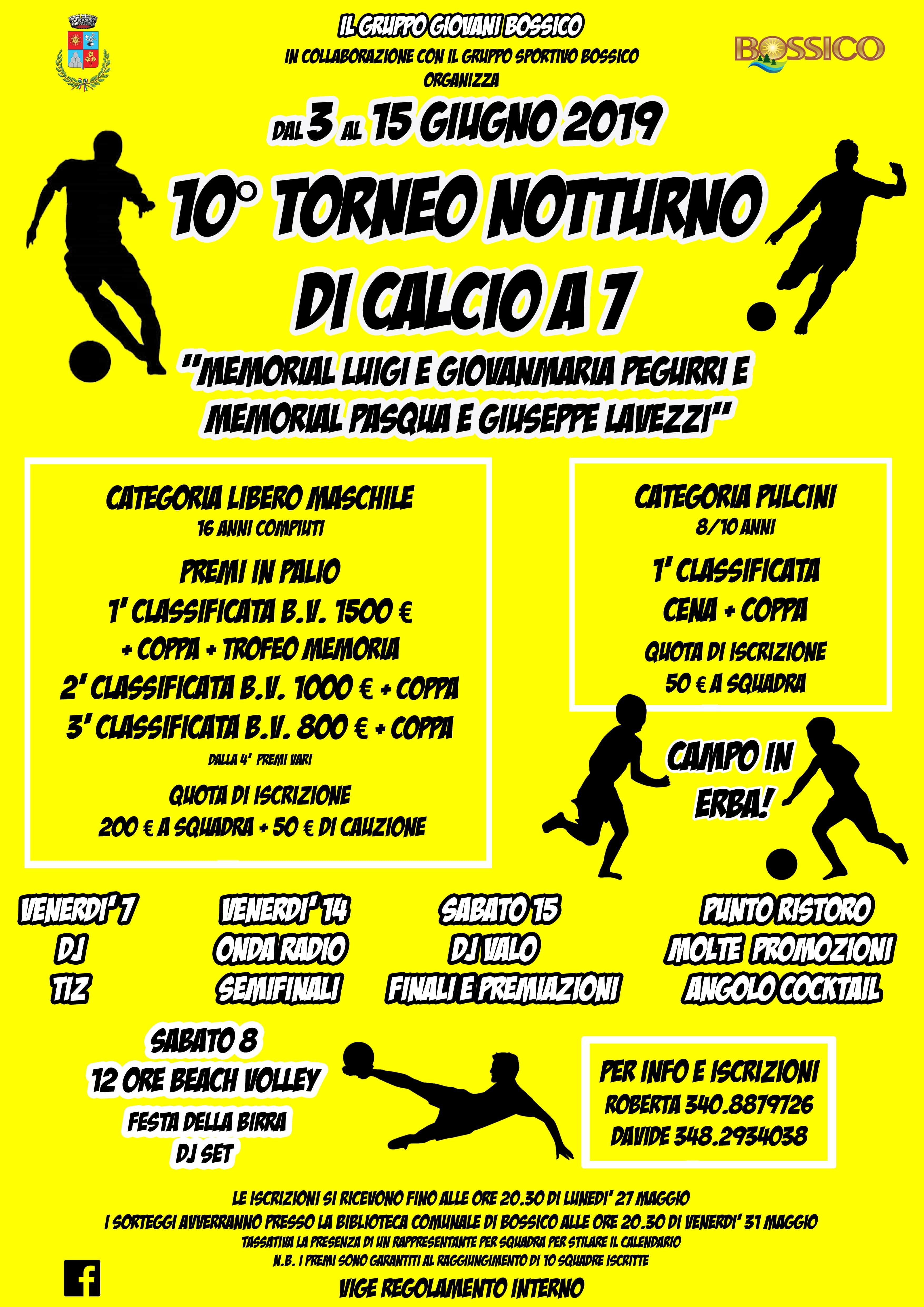 Calendario Torneo A 7 Squadre.10 Torneo Notturno Di Calcio A 7 Eppen