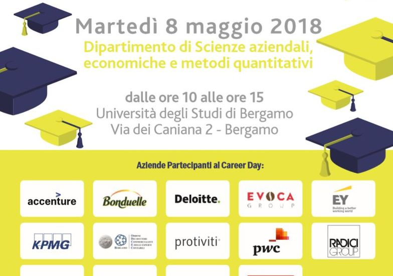 Calendario Unibg.Anche I Commercialisti Al Career Day Unibg Bergamo